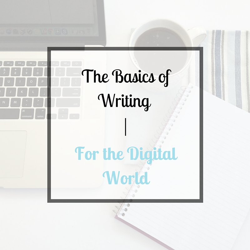 Writing for the Digital World