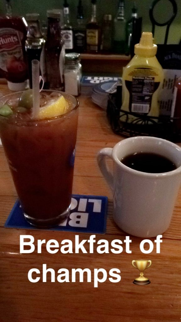 bloody mary + coffee