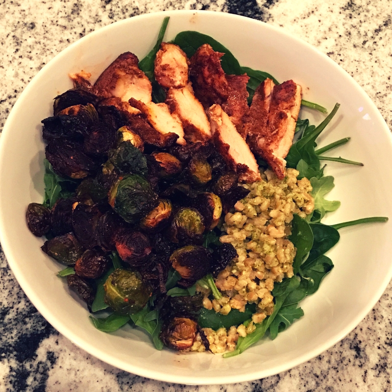 wiaw-chili-maple-chicken-farro-brussels