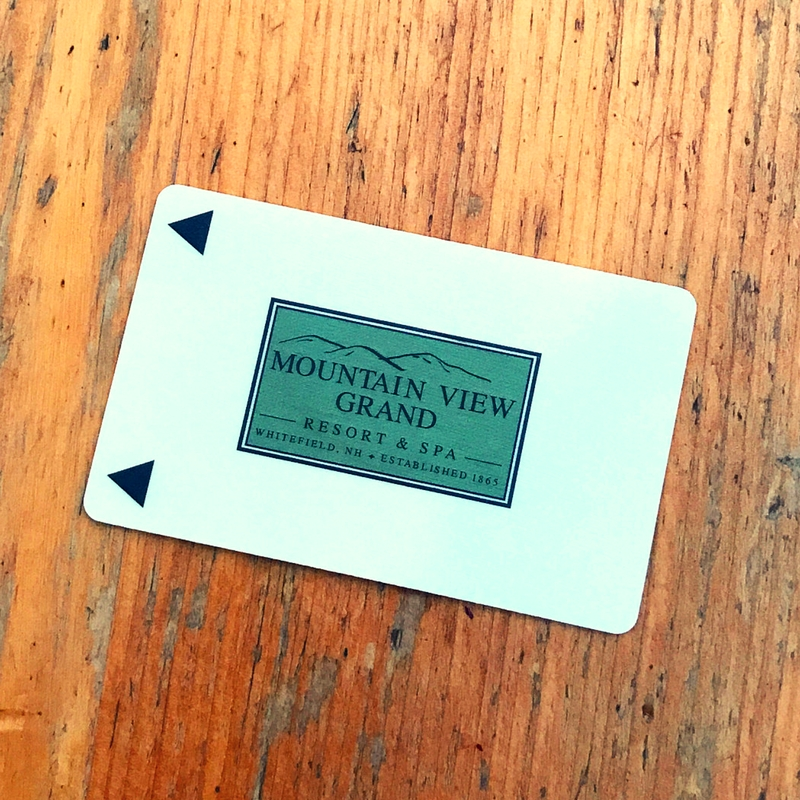 Mountain View Grand Resort card