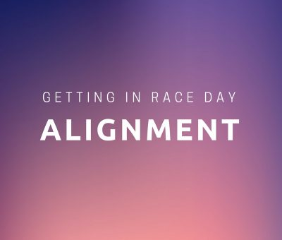 Race day alignment